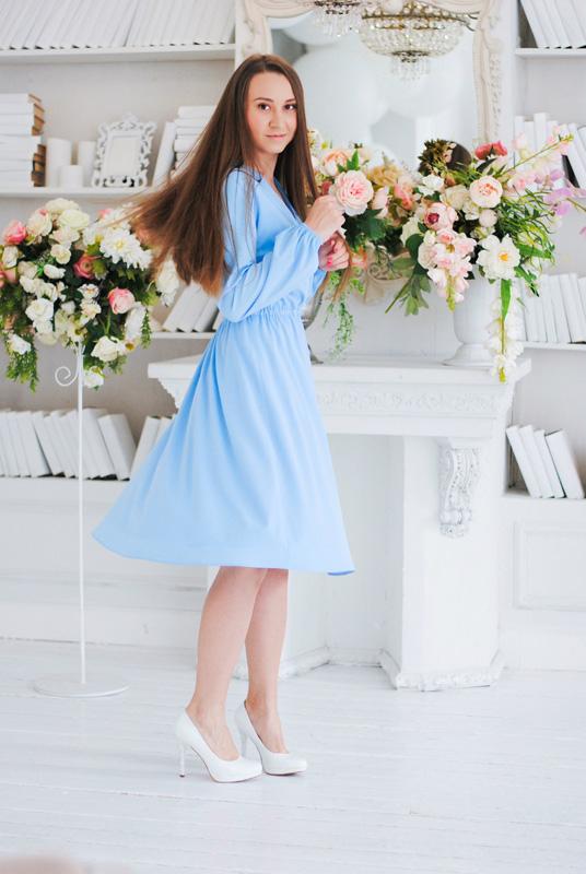 """Женское платье """"Ангелина"""""""
