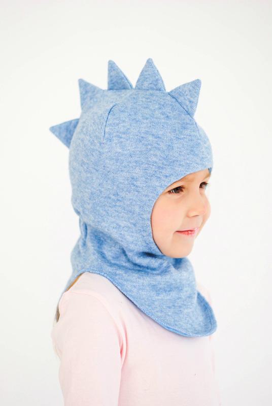 """Детская шапка - шлем """"Олаф"""""""