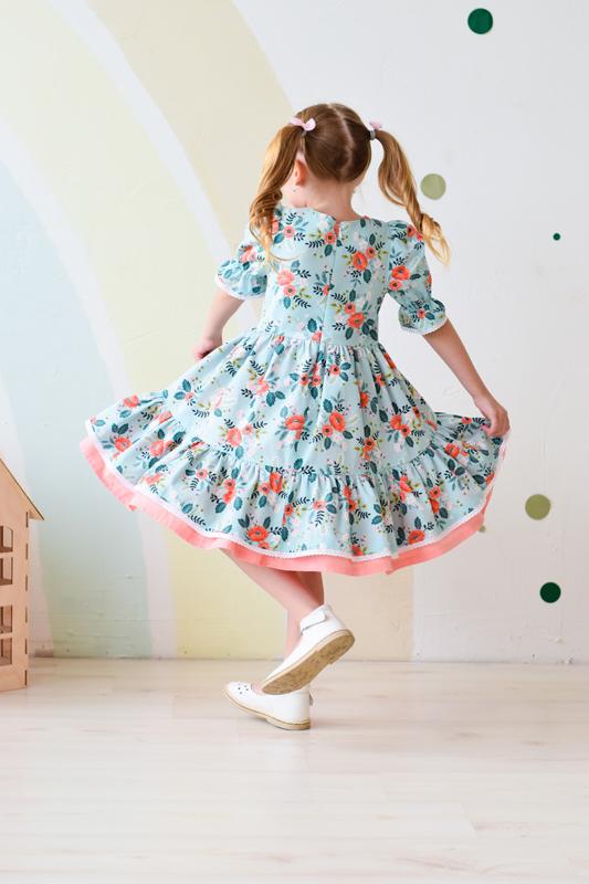 """Детское платье """"Ванесса"""""""