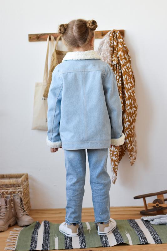 """Детская куртка с мехом """"Рене"""""""